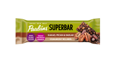 Bar with pecan nuts&dates 40g